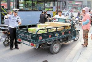 枣庄市薛城区载货车辆限行区划定 下月起正式实施