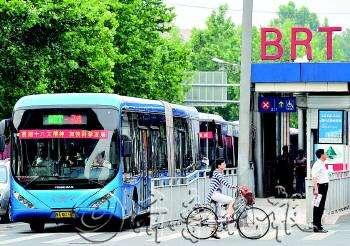 10月26日起,历山路解放桥、山东新闻大厦、文化东路西口BRT站台恢复使用
