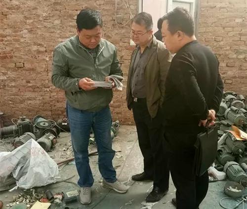 冠县一村民销售假冒伪劣电动机被查 涉案电动机当场查扣