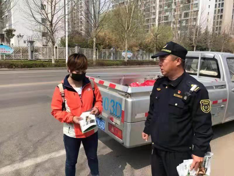 青岛大力整治违法散发广告传单行为 一个月立案处罚68起