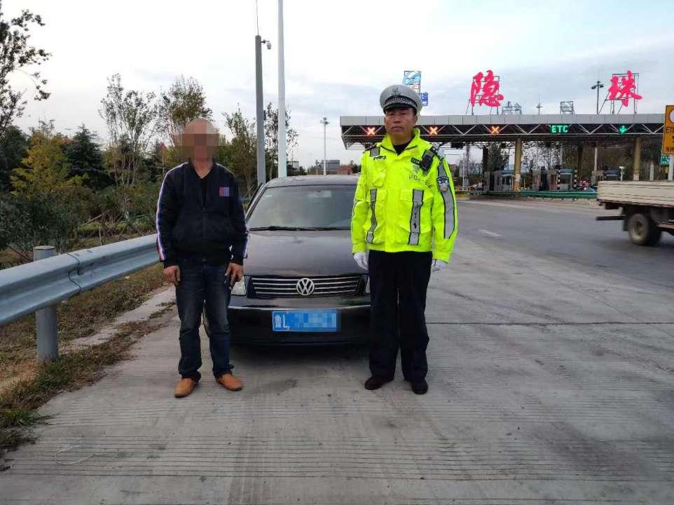 科目一屡考不过关 男子无证驾车被青岛交警查获