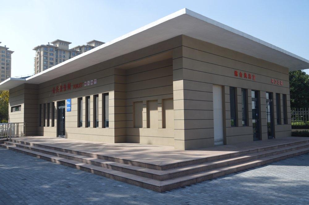 """淄博高新区""""六个一类、超一类""""公厕全面投入使用"""