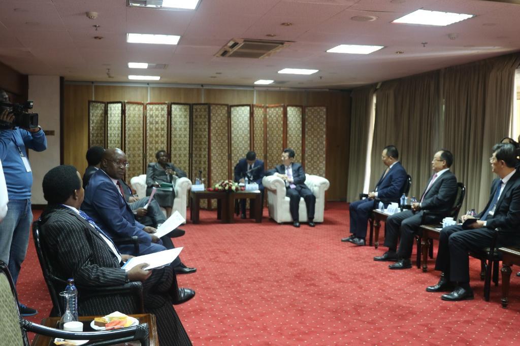 山东首次东非地区国家商品展会成功举行