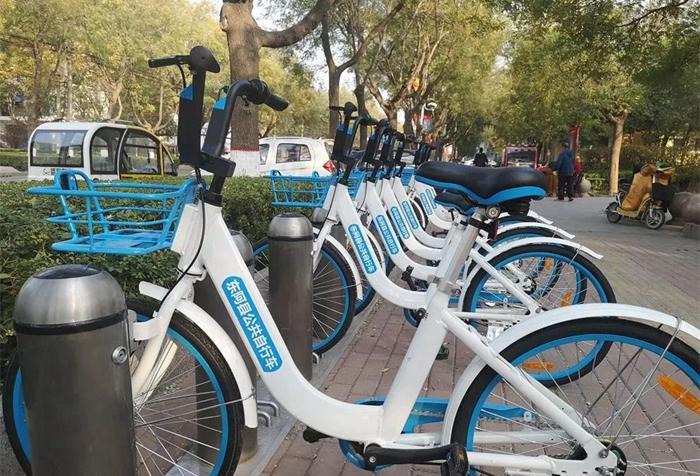 东阿县公共自行车正式启用 投入1000辆车设40个站点