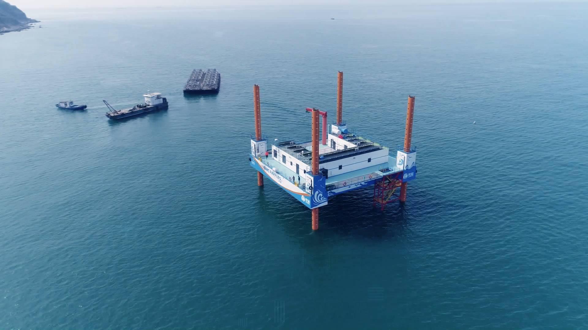 山东超级工程丨中国第一座海上牧场平台 拉开人类耕海新时代大幕