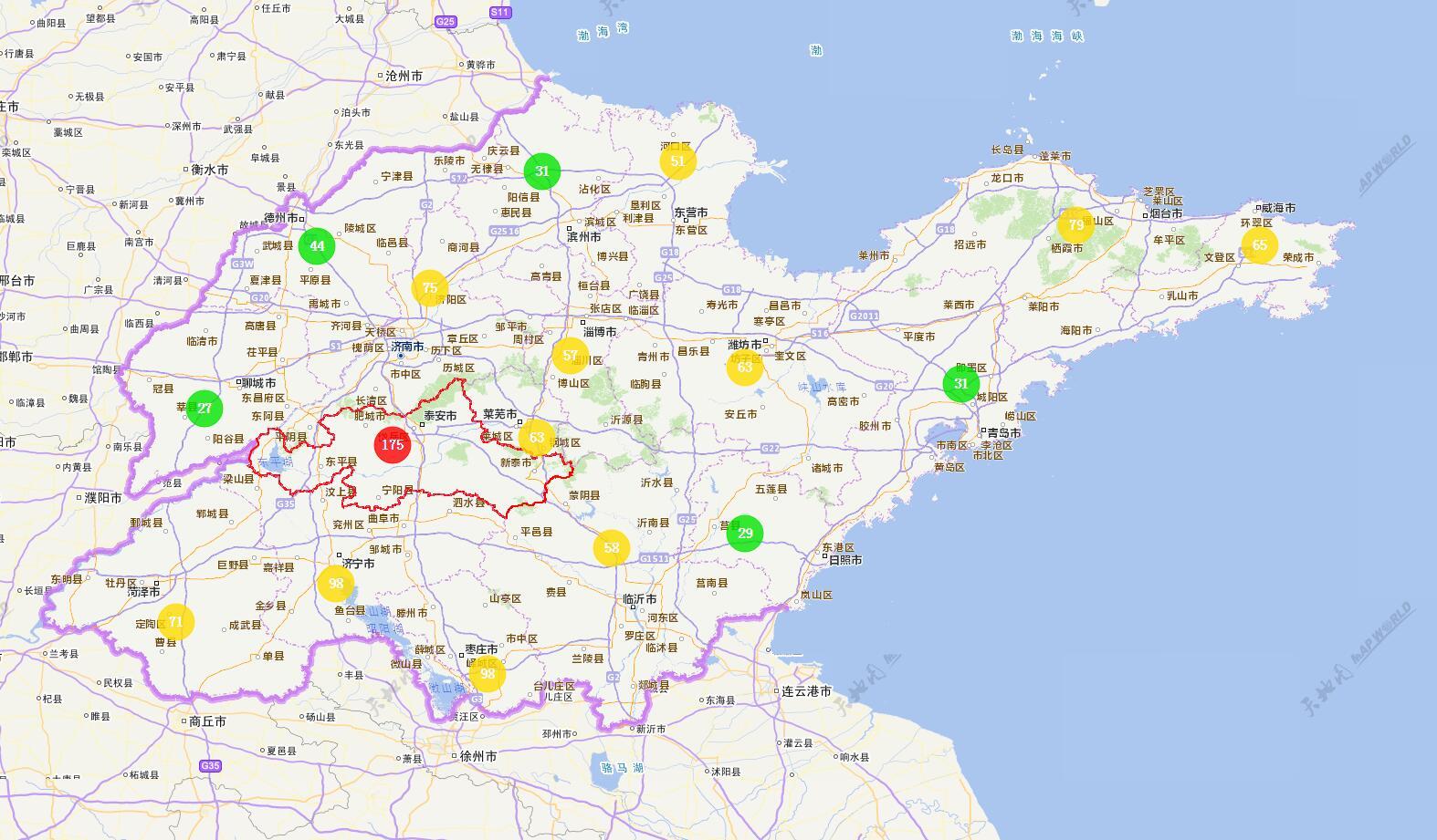 海丽气象吧丨山东:今天降温7℃左右 未来4天雨水频繁