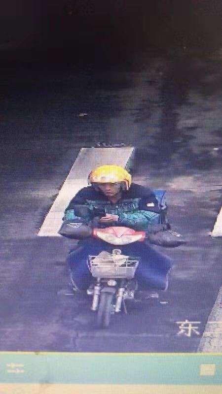 淄博交警发布信息 寻找肇事逃逸外卖小哥