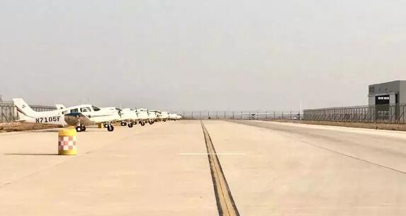 日照机场通用航空单月飞行首次突破2000小时大关