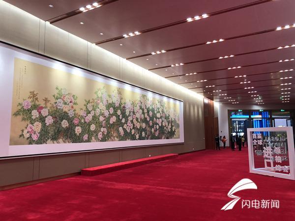 菏泽巨野工笔画相继亮相青岛上合峰会和上海进口博览会