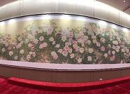 高清组图丨菏泽巨野牡丹画亮相首届进博会共享大厅