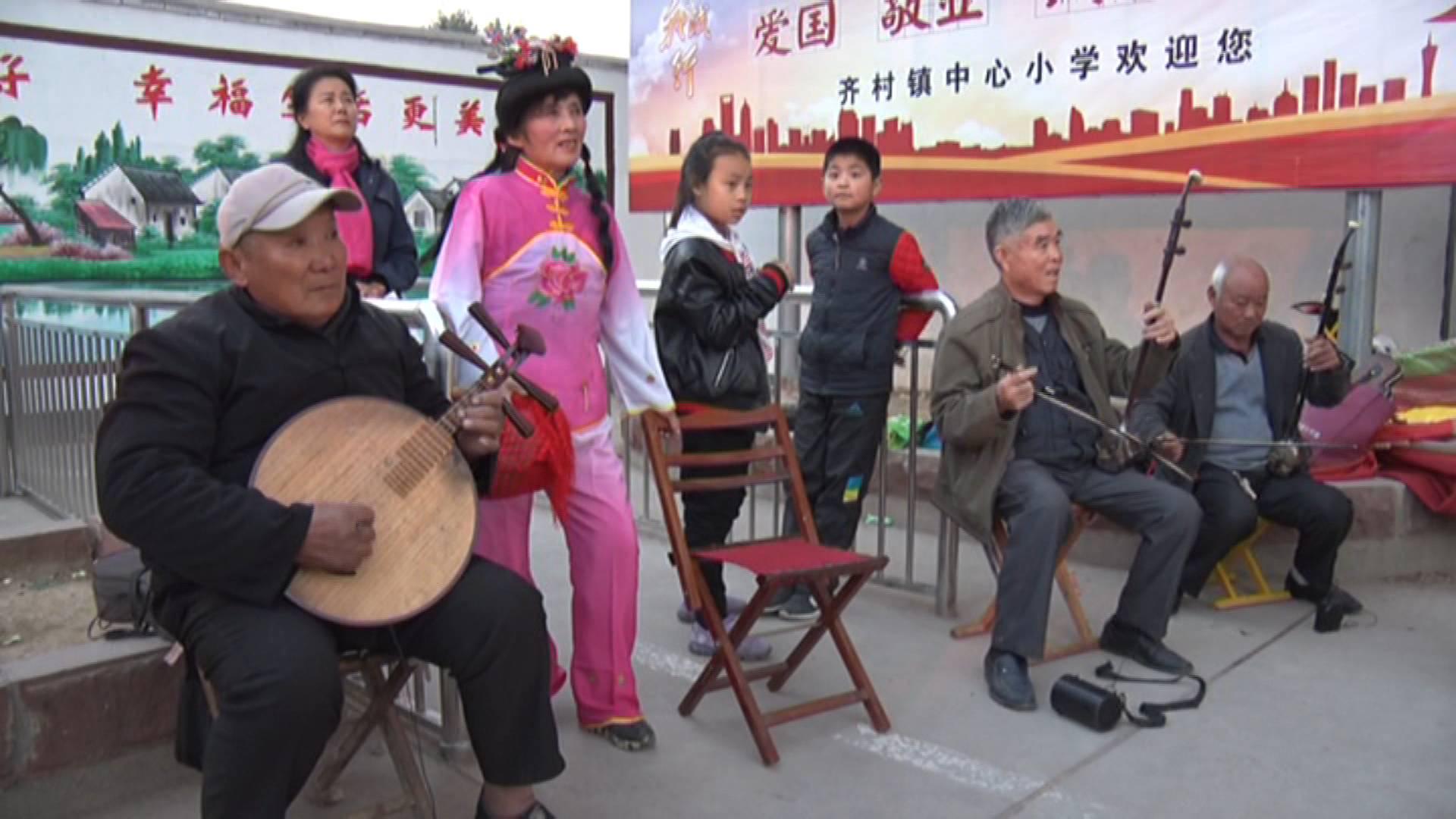 """枣庄七旬老大爷组""""千岁""""剧团 坚持农村公益演出8年"""
