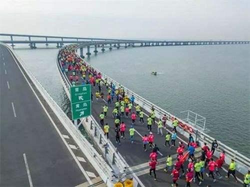 2018青岛海上国际马拉松赛本周日开跑 相关道路实行交通管制