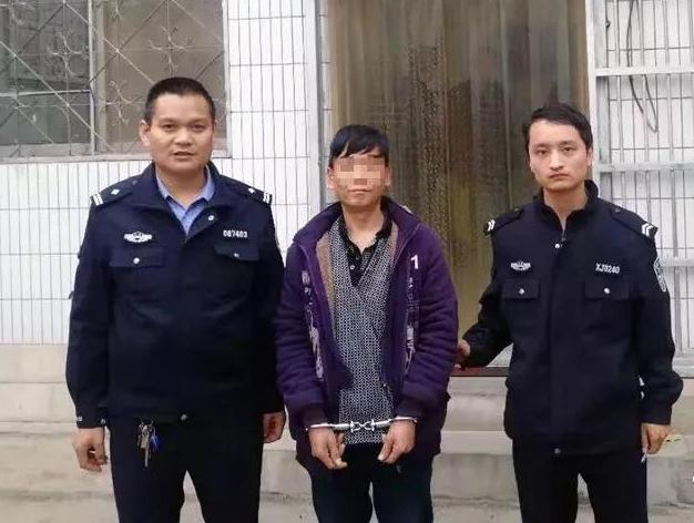 """男子""""三进宫""""仍不思悔改 行窃后2小时被冠县警方抓获"""
