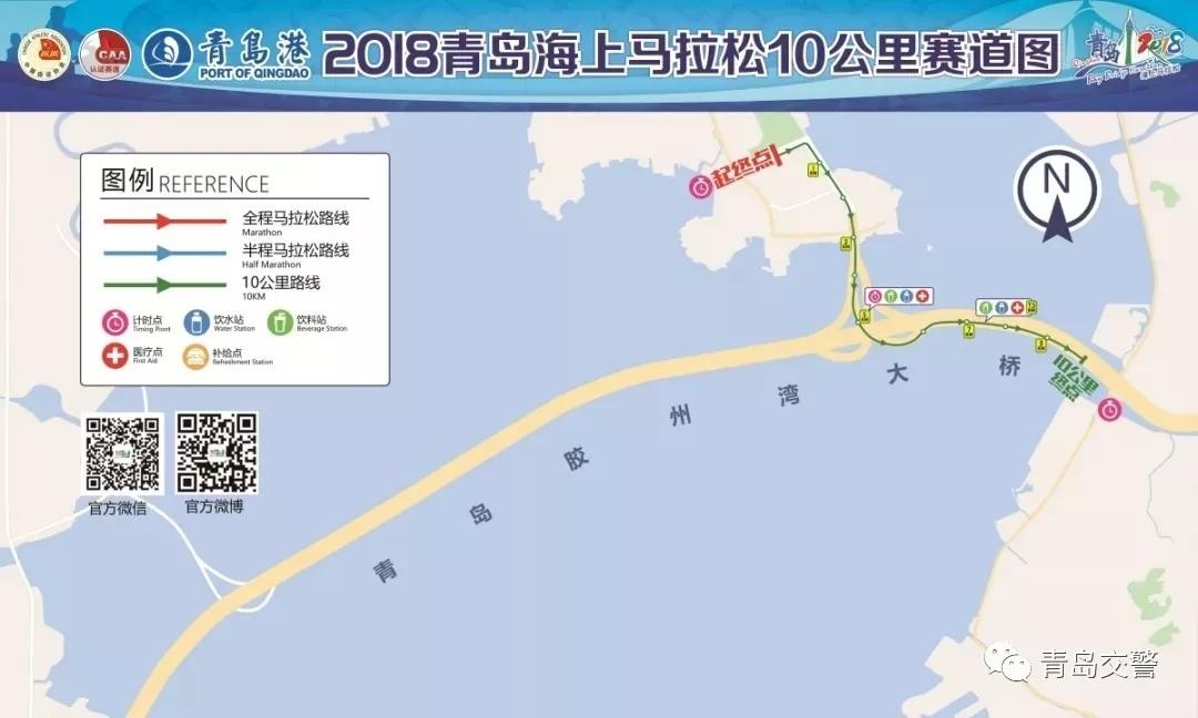 最新消息!胶州湾跨海大桥封闭,周边交通调流