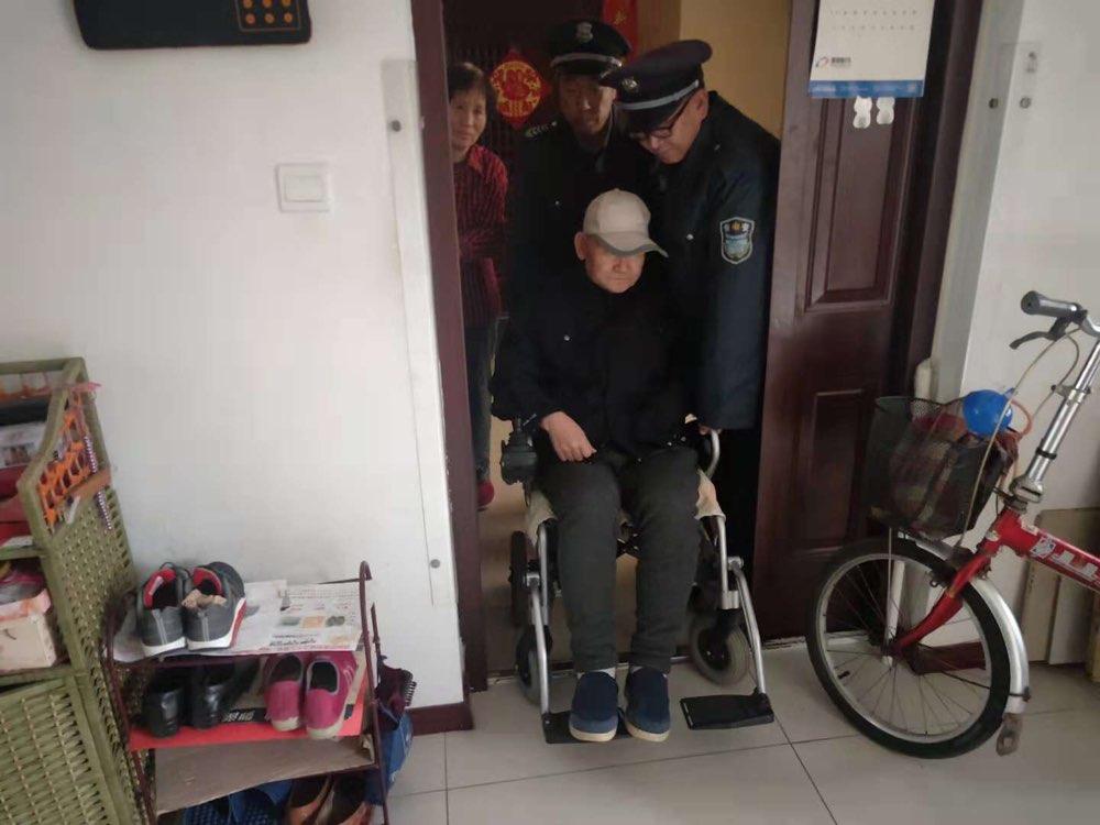 善行义举! 淄博一社区7名保安大叔照顾空巢老人两年