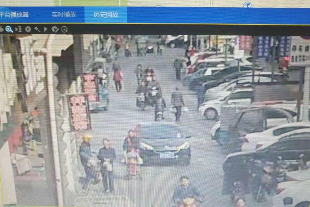 """淄博交警借力""""天网""""  揪出肇事外卖小哥"""