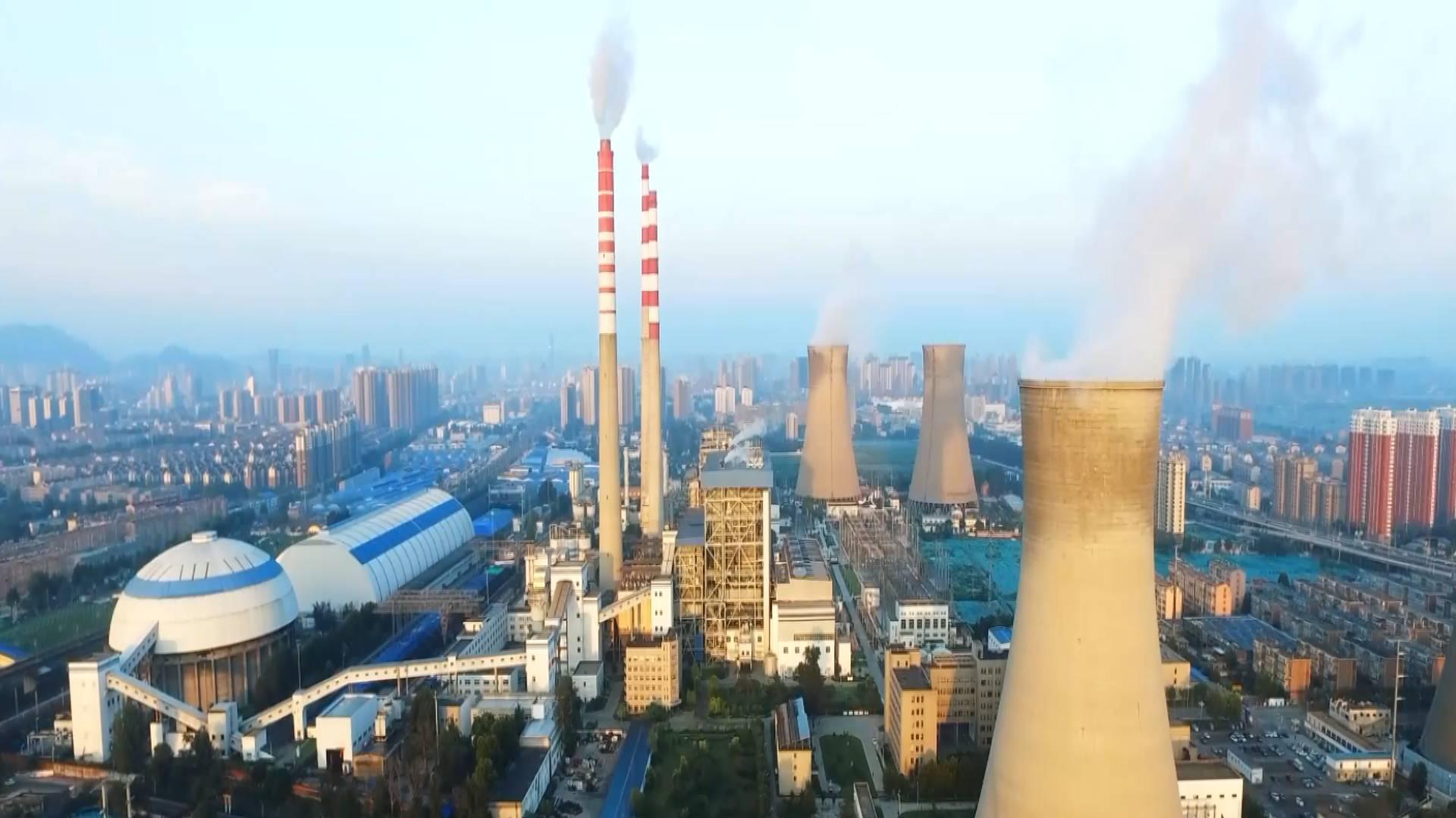 """存煤量接近30万吨 济南黄台电厂提前进入""""供热""""模式"""
