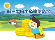 前三季度泰安获得2230万元省级生态补偿资金