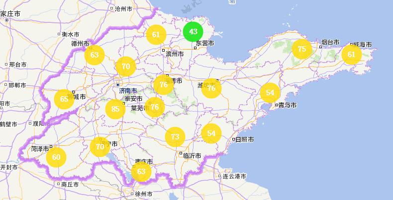 海丽气象吧丨山东半岛地区今有小雨 17市空气质量优良