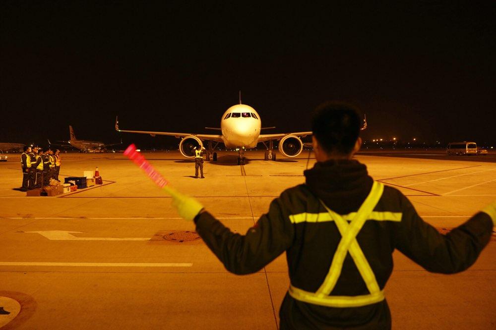 青岛航空新添一架空客A320neo客机 机队已达17架
