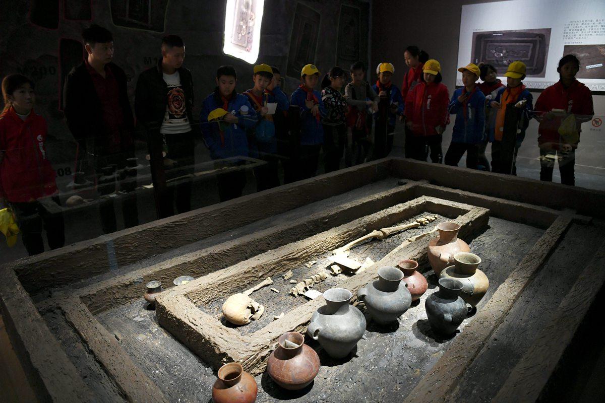 130秒|五千年前的山东大汉身高1米9 焦家遗址文物等你来看