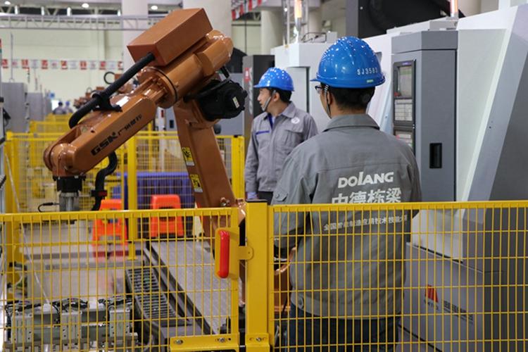 85秒丨未来工厂、虚拟现实......看工业4.0智能教学有多强!