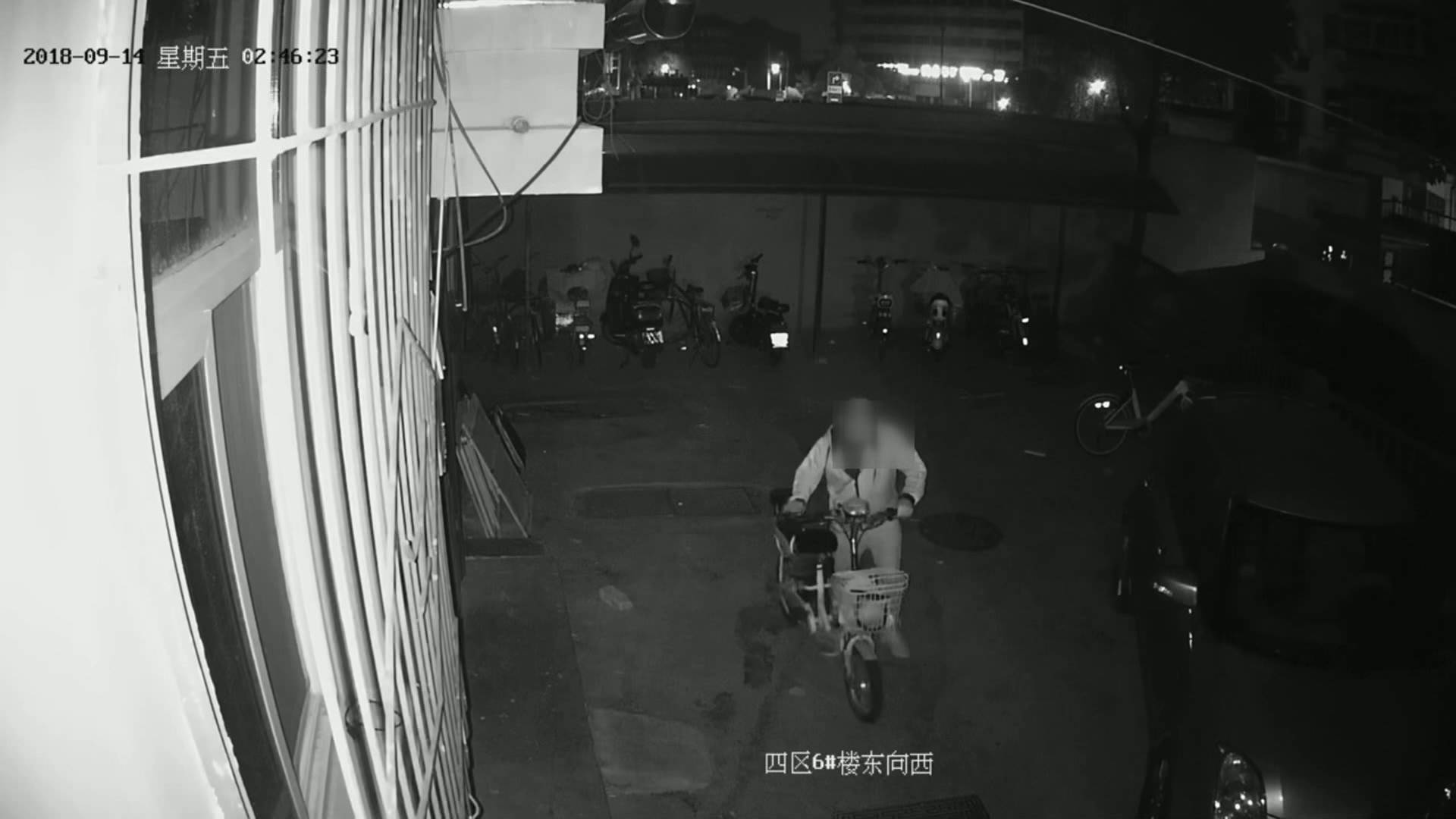 54秒丨电动车盗贼老手自曝为何白天不盗窃:我这个形象太好认