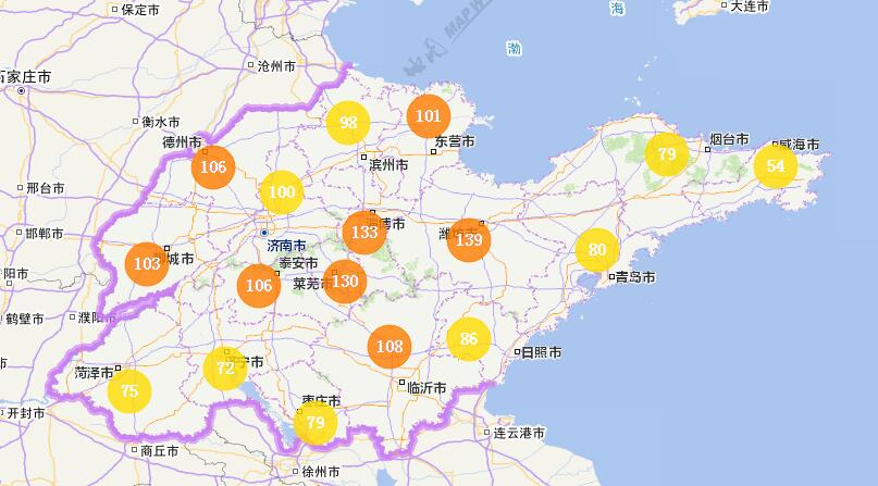 海丽气象吧丨山东:今天白天升温2℃左右 多地出现轻度霾