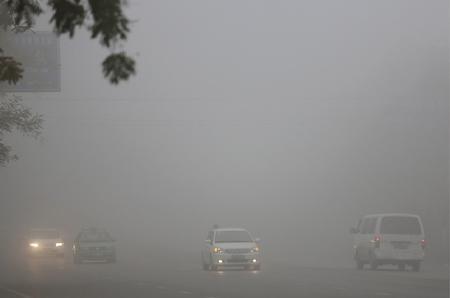 海丽气象吧 |能见度不足200米 枣庄发布大雾橙色预警
