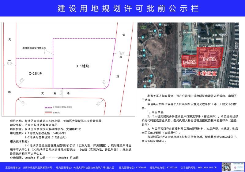 好消息!济南规划新建一批幼儿园、中小学,附具体位置、规划图