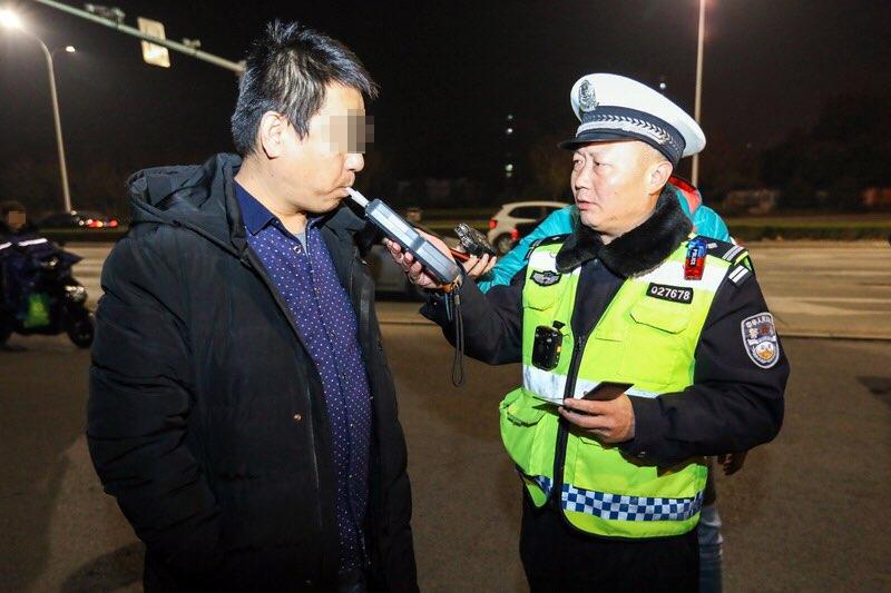 淄博公安交警开展第二次集中统一行动 查处交通违法1482起