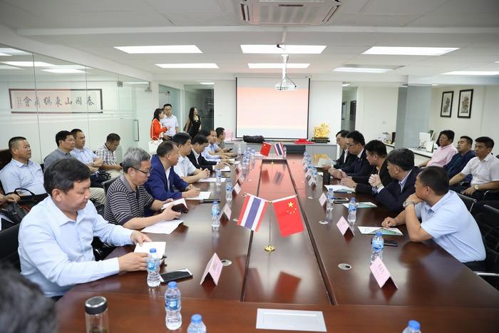 德州经开区东南亚经贸合作交流团在泰国开展商务对接