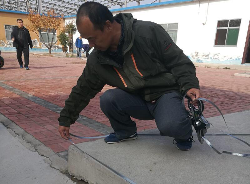 一天清点附着物230亩 淄博高新区全力推进项目开工建