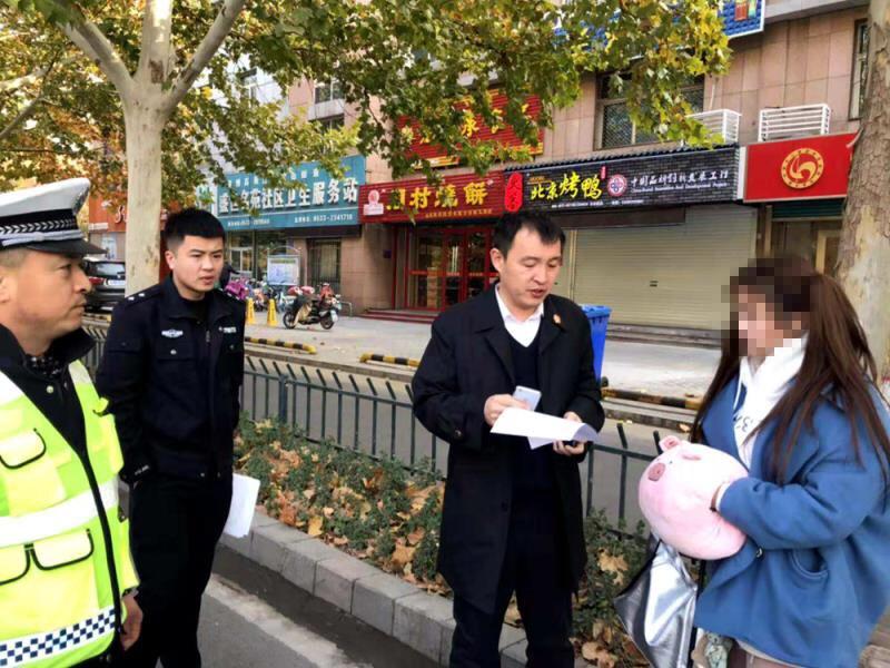 淄博高新区法院会同交警部门严查布控 已查扣2辆涉案车辆