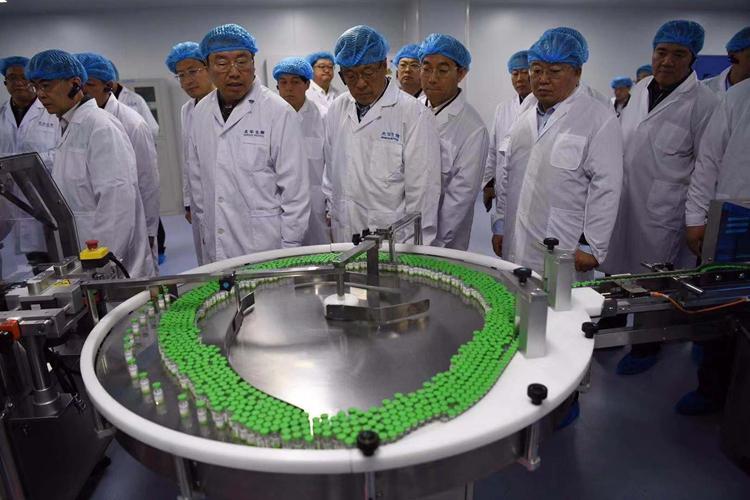 """观摩会走进山东首家独角兽企业:杰华生物创造生物制药""""青岛速度"""""""