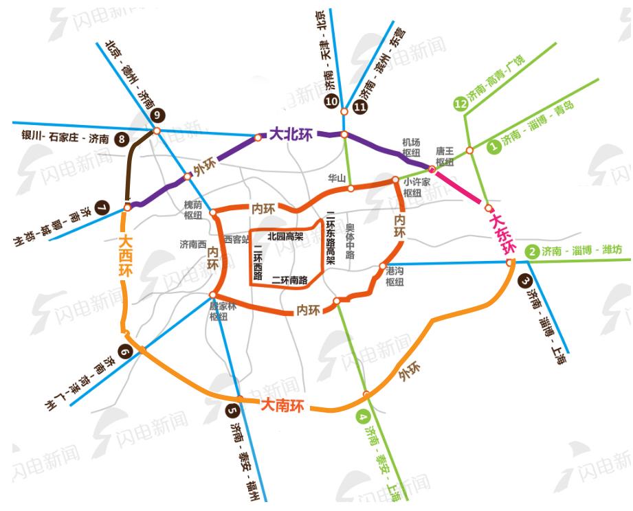20分钟到莱芜,30分钟到滨州,郑济高铁年内开建!山东这