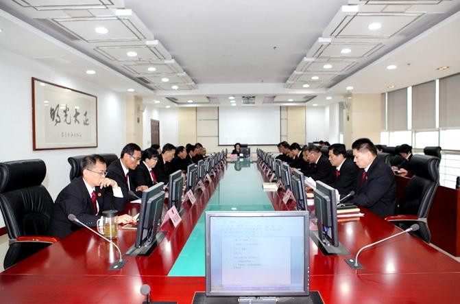 枣庄中院首次邀请检察长列席审委会