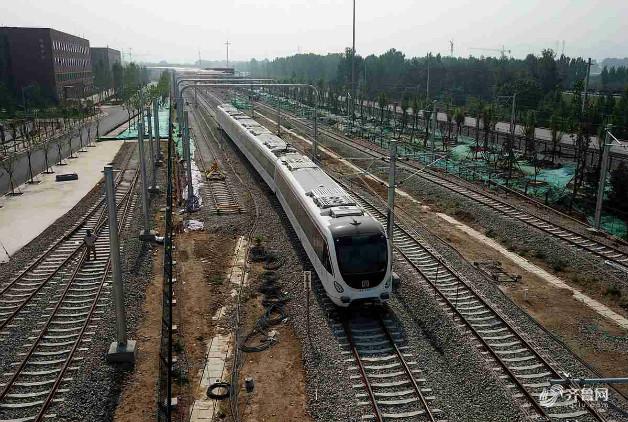 重磅!济南轨道交通R1线试运行安全证书成功交付