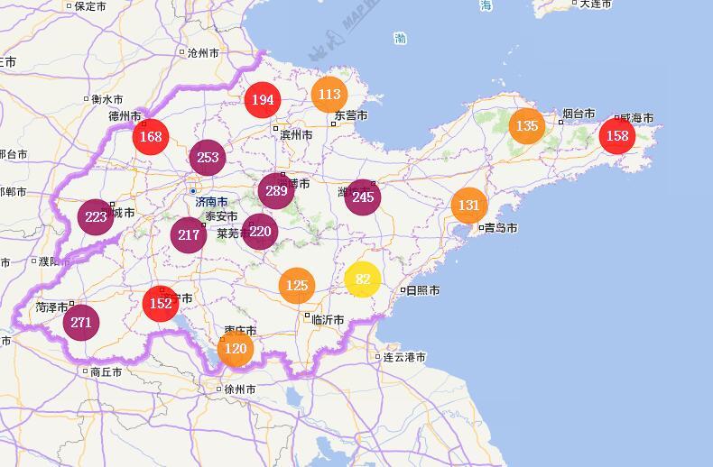 海丽气象吧丨山东:雾霾来袭 今晚迎大范围小雨天气