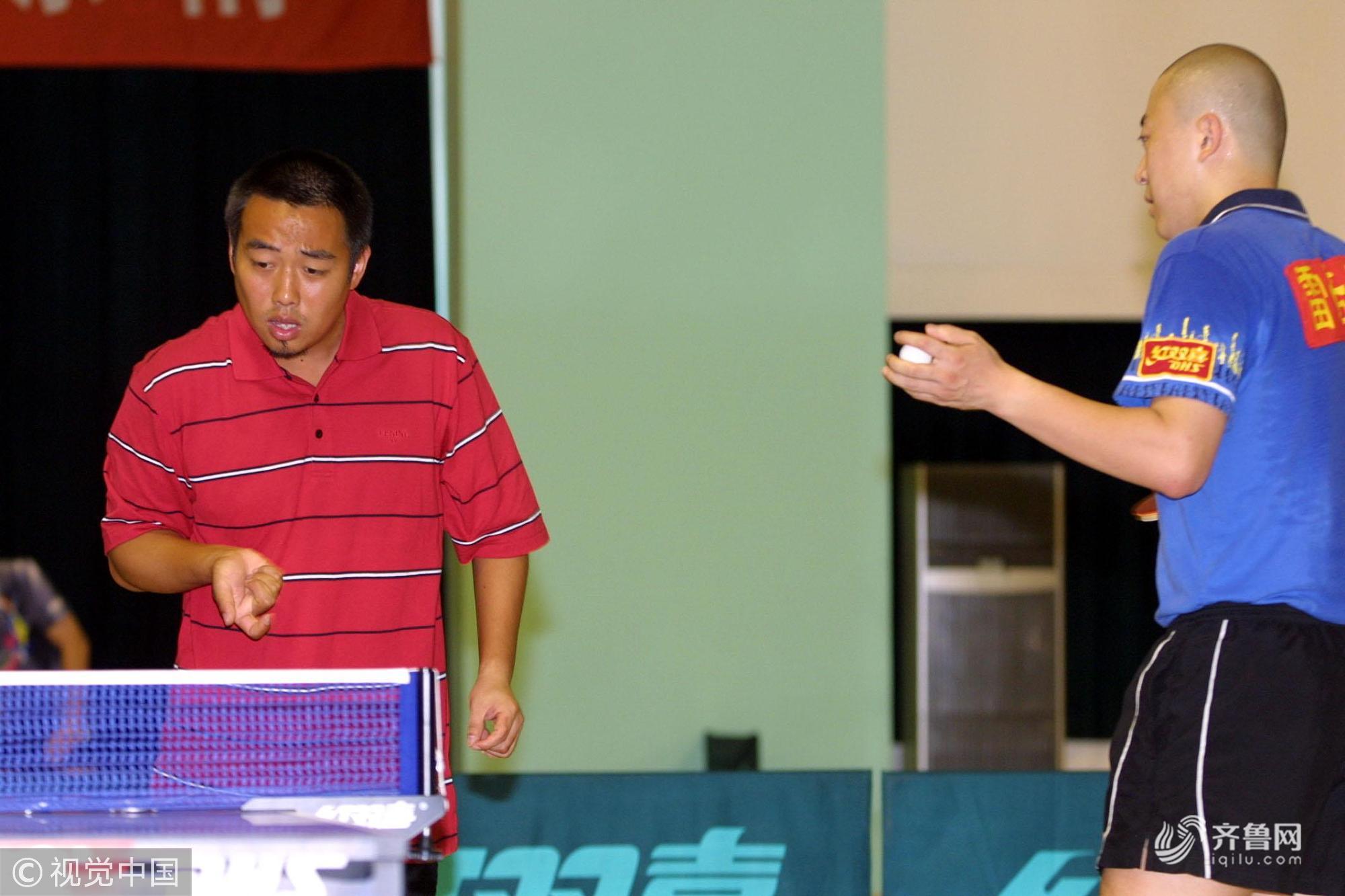 刘国梁当选新一届中国乒协主席 盘点那些难忘的比赛瞬间