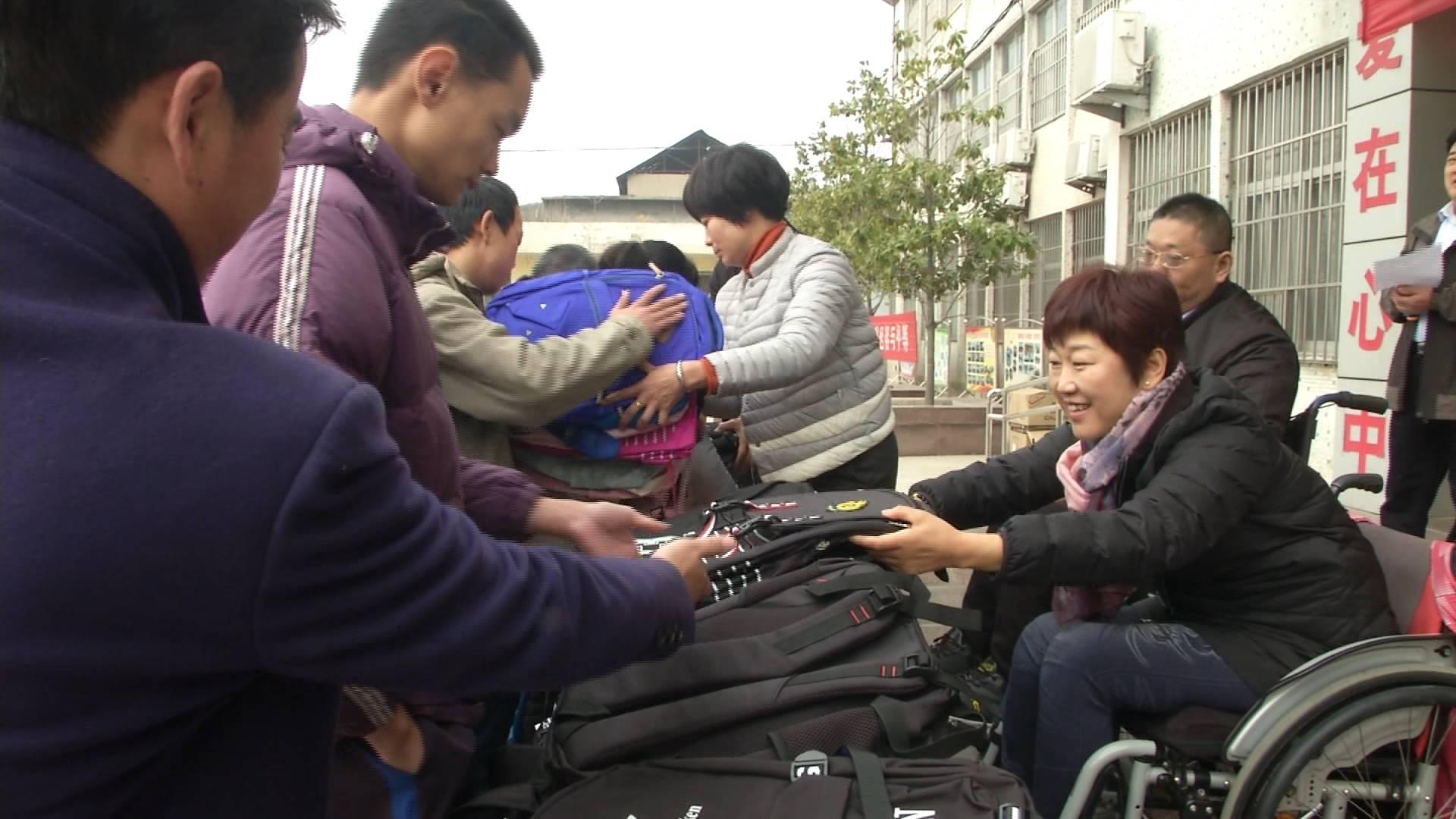"""山东举办多种活动迎接""""国际残疾人日,帮助残疾人融入社会"""