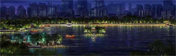 """继""""一湖一环""""之后 济南整个城市夜色都将美轮美奂起来"""