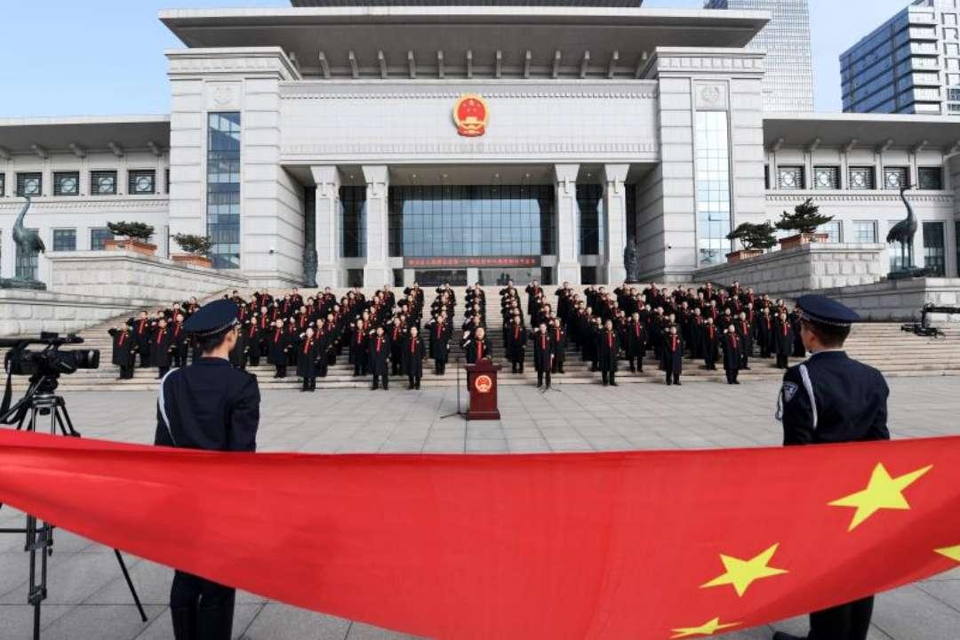 """山东省法院组织开展""""12·4""""国家宪法日主题宣传活动"""