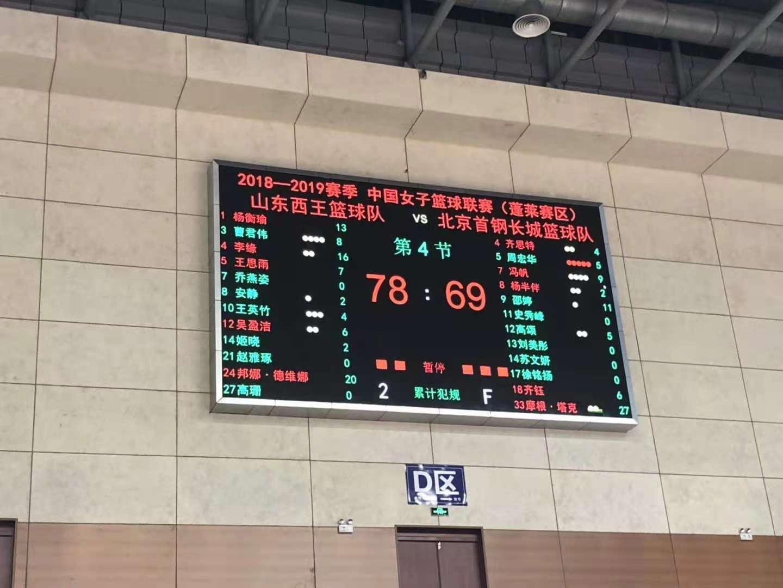 李缘16分,山东西王女篮主客场双杀卫冕冠军,下场迎战江苏