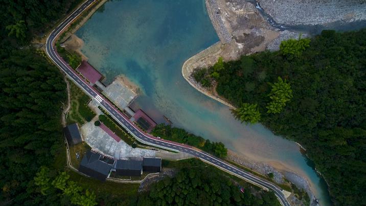 川跃四十年 再瞰新天府丨冬日仙境,来看镜头下的巴山大峡谷