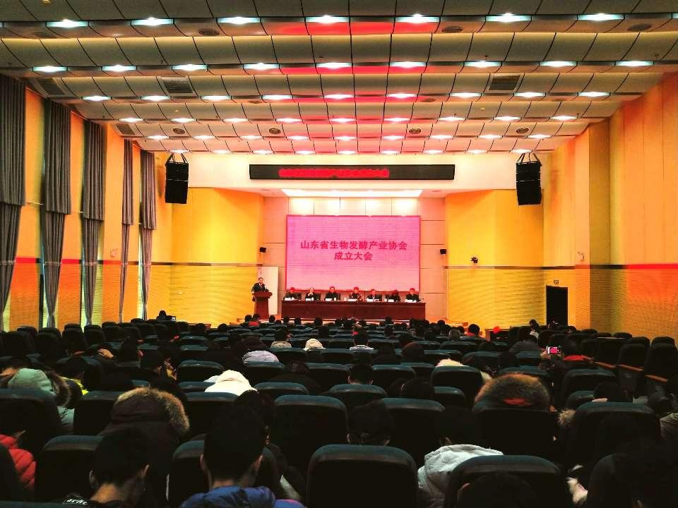 王随莲出席山东省生物发酵产业协会成立大会