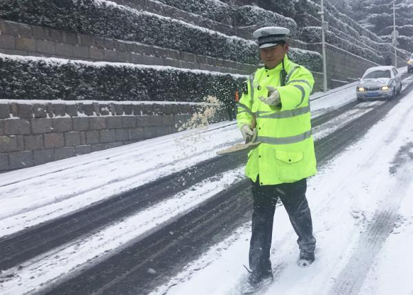 今冬清雪更加绿色环保 威海严控融雪剂使用量