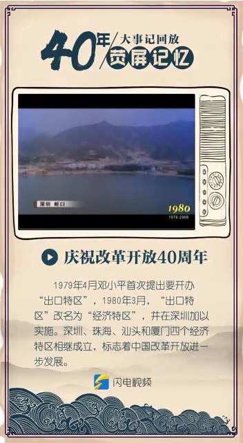 """40年·荧屏记忆丨小渔村开始变身国际大都会 """"深圳速度""""瞩目世界"""