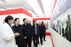 """""""庆祝改革开放40周年山东文学成就展""""在山东文学馆开展"""