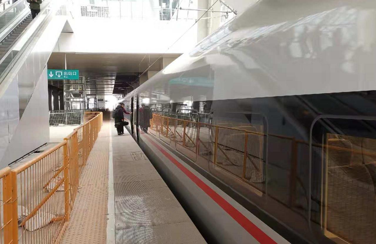 21秒丨济青高铁预计12月26日正式通车 济南到青岛只需1小时40分